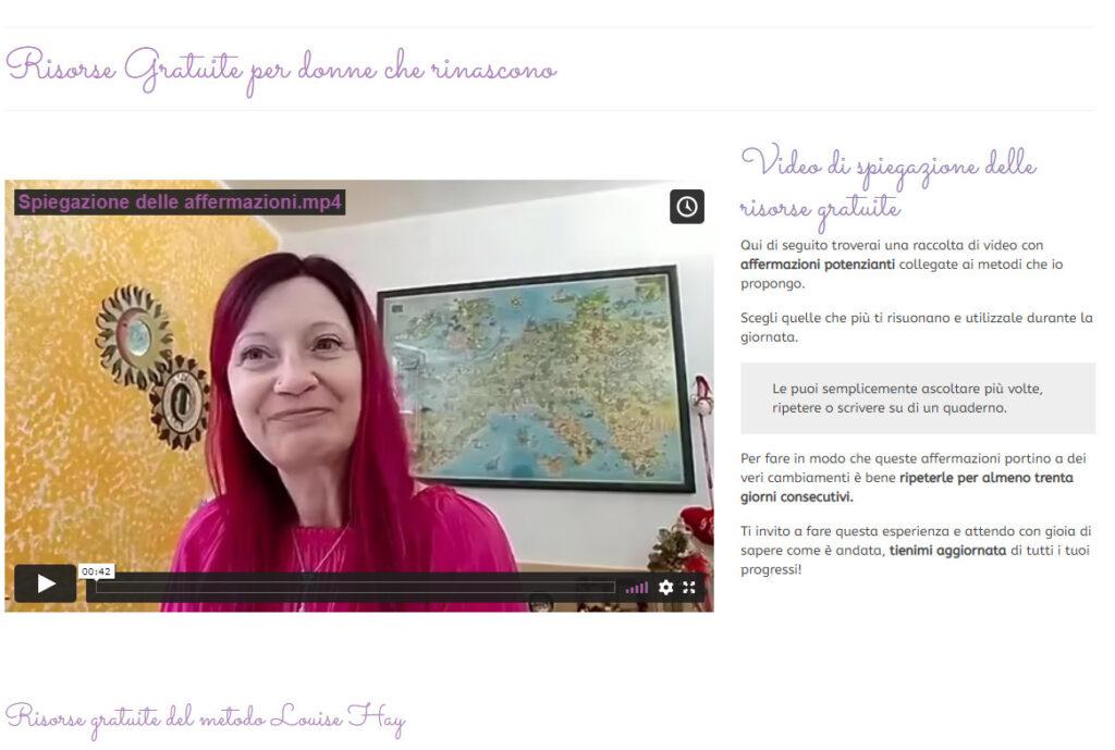 Laura Pighi Coach risorse gratuite per Donne che rinascono
